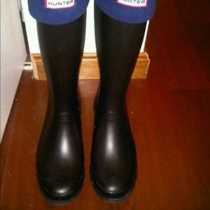 Hunter huntress rain boots